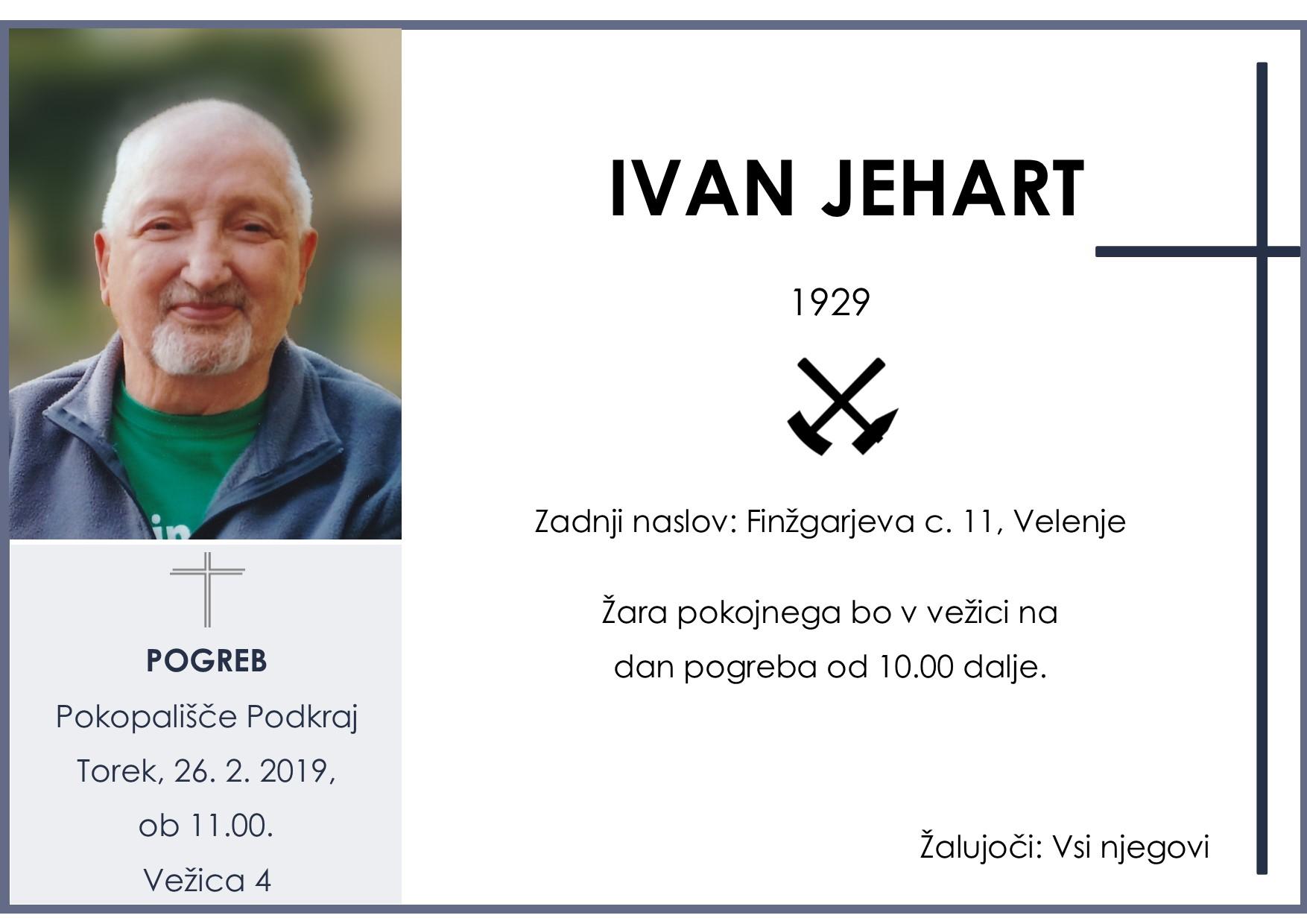 IVAN JEHART, 26. 02. 2019, Podkraj
