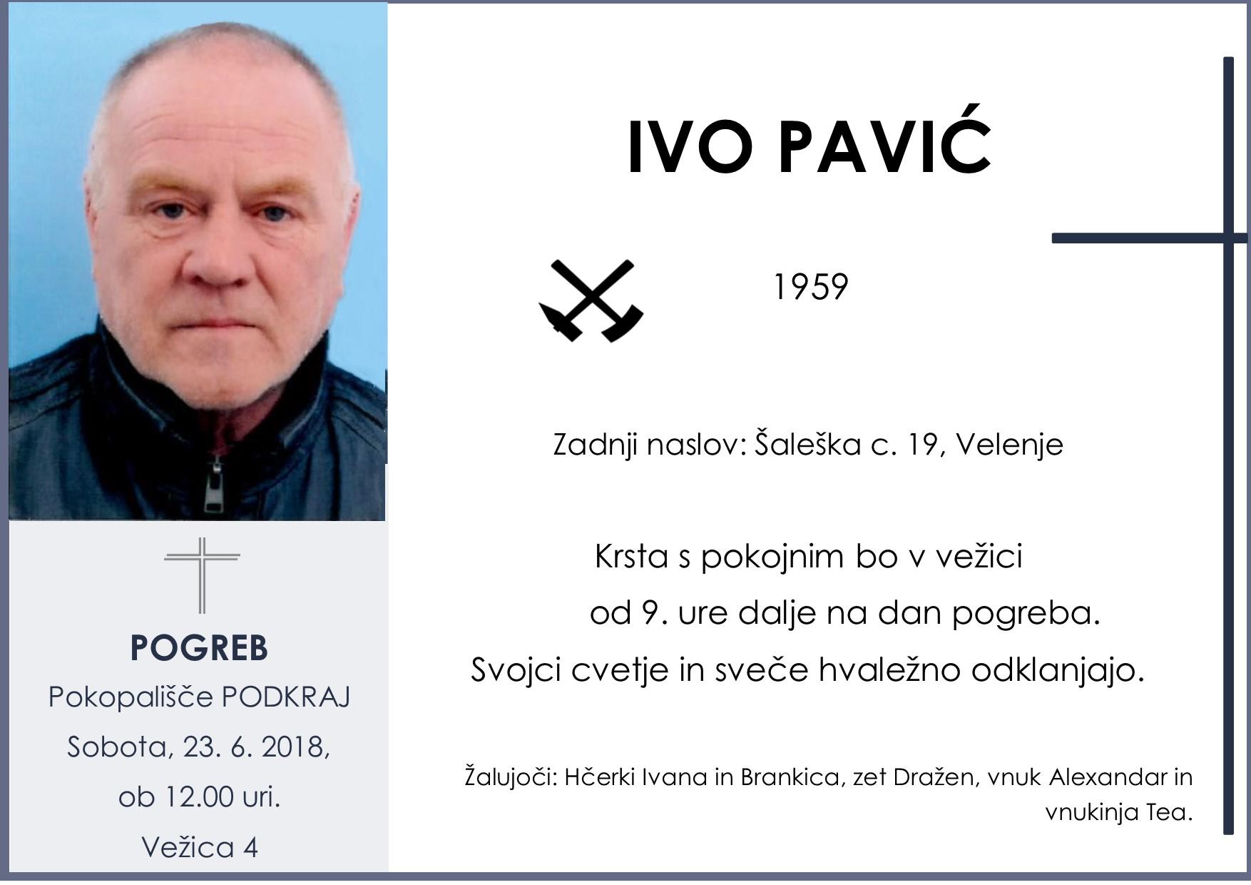 IVO PAVIĆ, PODKRAJ, 23. 06. 2018