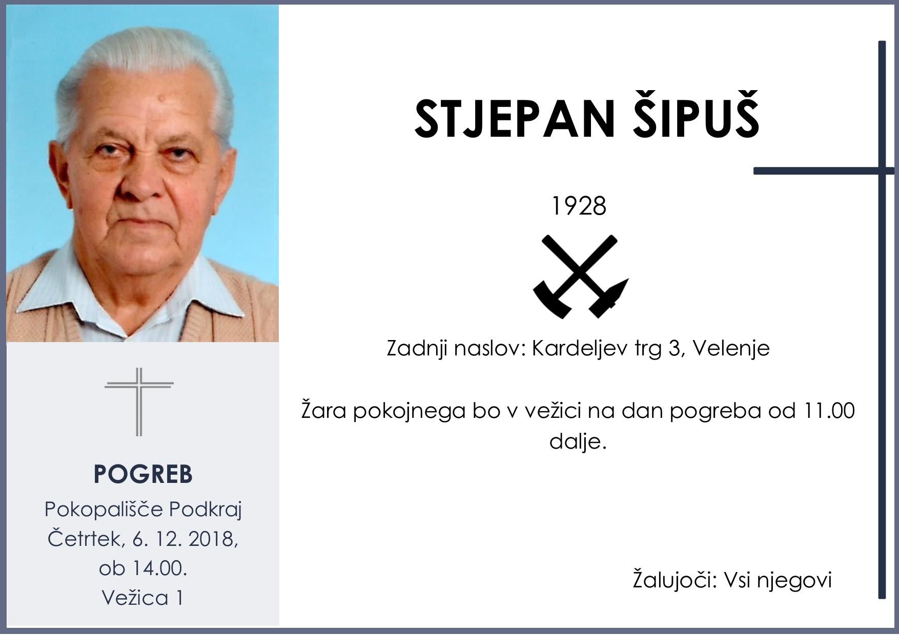 STJEPAN ŠIPUŠ, Podkraj, 06. 12. 2018
