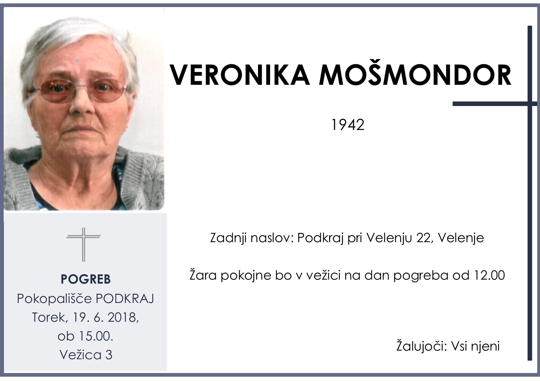 VERONIKA MOŠMONDOR, PODKRAJ, 19. 06. 2018